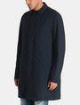 ARMANI EXCHANGE CAMO-LINED SLEEK TRENCH COAT Coat Man d