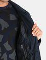 ARMANI EXCHANGE CAMO-LINED SLEEK TRENCH COAT Coat Man e