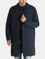 ARMANI EXCHANGE CAMO-LINED SLEEK TRENCH COAT Coat Man f
