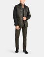 ARMANI EXCHANGE QUILTED HOODED FIELD COAT Coat Man a