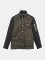 ARMANI EXCHANGE QUILTED HOODED FIELD COAT Coat Man b