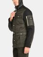 ARMANI EXCHANGE QUILTED HOODED FIELD COAT Coat Man d