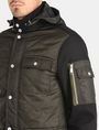 ARMANI EXCHANGE QUILTED HOODED FIELD COAT Coat Man e