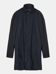ARMANI EXCHANGE CAMO-LINED SLEEK TRENCH COAT Coat Man b