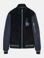 ARMANI EXCHANGE QUILTED ARM LOGO BOMBER JACKET Jacke Herren b