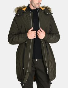 ARMANI EXCHANGE HOODED INSULATED FISHTAIL PARKA Coat Man f