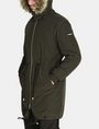 ARMANI EXCHANGE HOODED INSULATED FISHTAIL PARKA Coat Man d