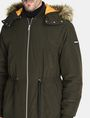 ARMANI EXCHANGE HOODED INSULATED FISHTAIL PARKA Coat Man e