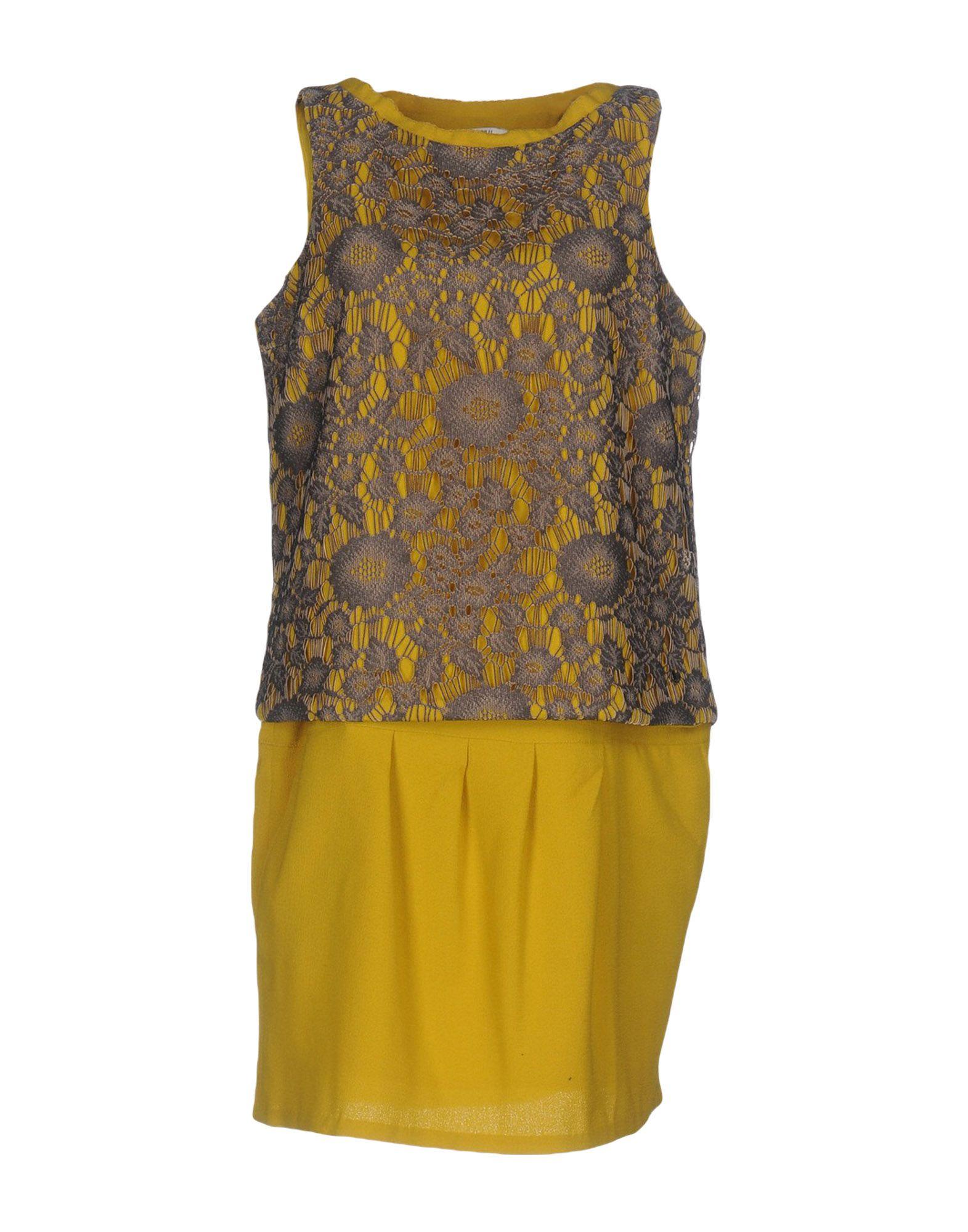LUCKY LU  Milano Короткое платье платье lucky move lucky move mp002xw0e1zw