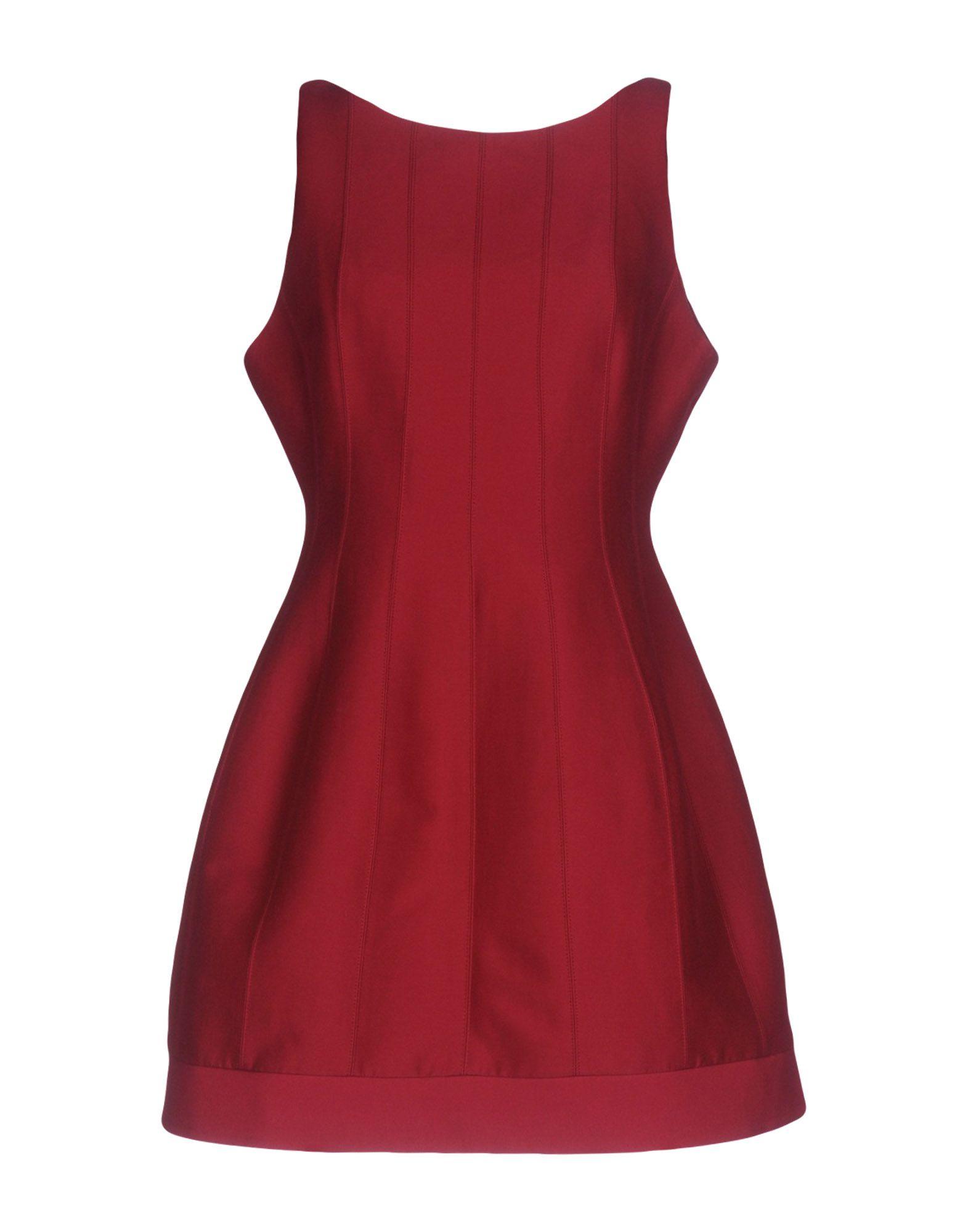 платье halston heritage платья и сарафаны мини короткие HALSTON HERITAGE Короткое платье