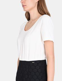 ARMANI EXCHANGE DOT JACQUARD TWOFER DRESS Mini dress Woman e