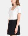 ARMANI EXCHANGE DOT JACQUARD TWOFER DRESS Mini dress Woman d