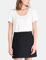 ARMANI EXCHANGE DOT JACQUARD TWOFER DRESS Mini dress Woman f