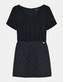 ARMANI EXCHANGE DOT JACQUARD TWOFER DRESS Mini dress Woman b