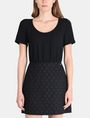 ARMANI EXCHANGE DOT JACQUARD TWOFER DRESS Mini dress Woman d