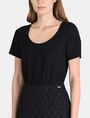 ARMANI EXCHANGE DOT JACQUARD TWOFER DRESS Mini dress Woman e