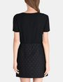 ARMANI EXCHANGE DOT JACQUARD TWOFER DRESS Mini dress Woman r