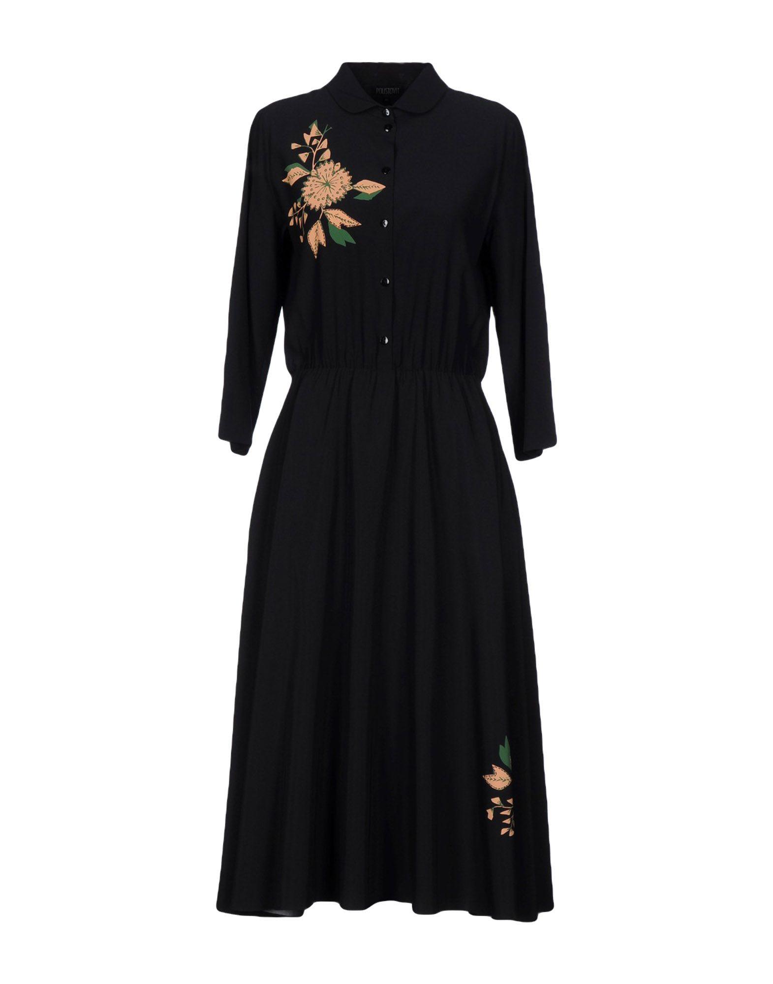 POUSTOVIT Платье длиной 3/4 lisa corti платье длиной 3 4