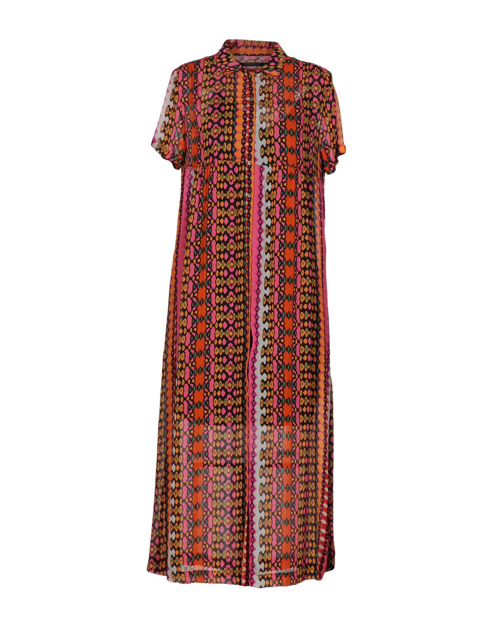 SCOTCH & SODA Платье длиной 3/4 lisa corti платье длиной 3 4
