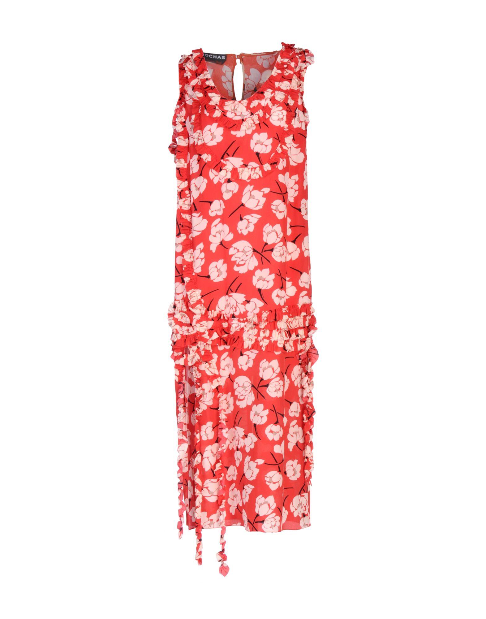 ROCHAS Платье длиной 3/4 lisa corti платье длиной 3 4