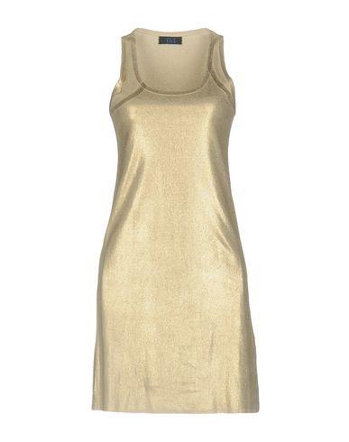 Фото - Женское короткое платье TWIN-SET JEANS цвет платиновый