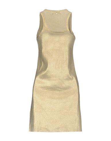 Фото 2 - Женское короткое платье TWIN-SET JEANS цвет платиновый
