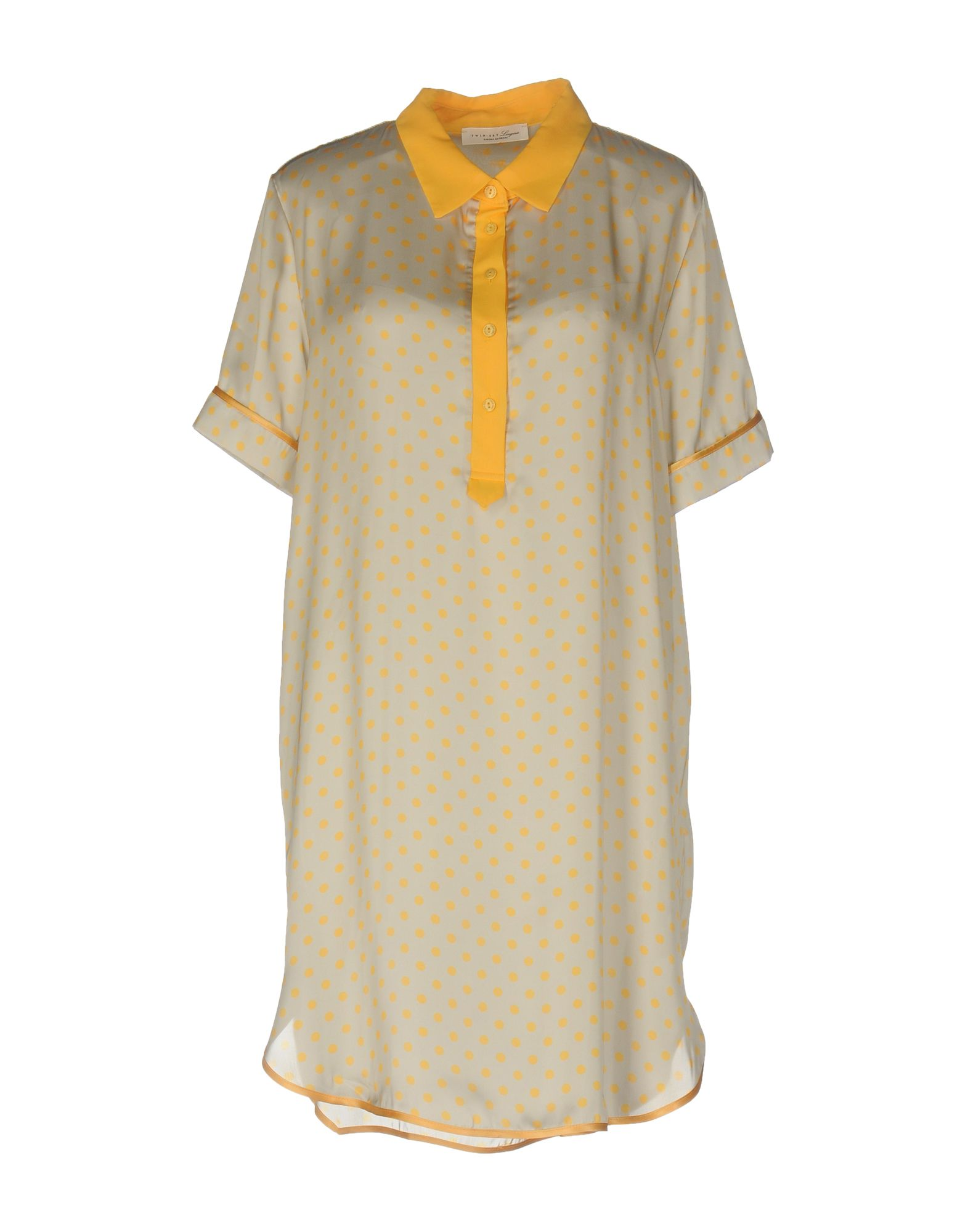TWIN-SET LINGERIE Ночная рубашка рубашка в мелкий горошек