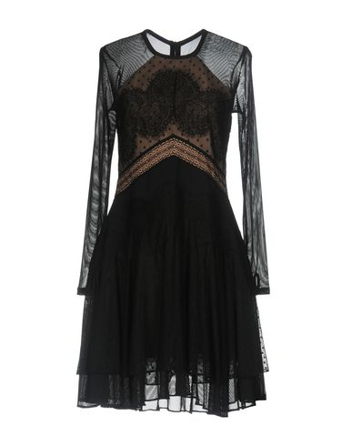 Купить Женское короткое платье THREE FLOOR черного цвета