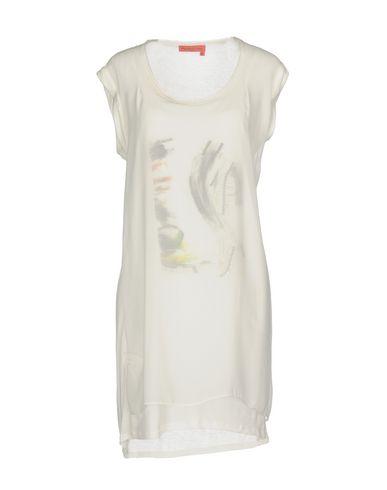 Фото - Женское короткое платье MANILA GRACE DENIM белого цвета