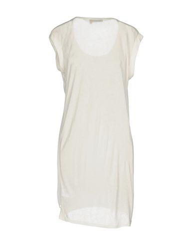 Фото 2 - Женское короткое платье MANILA GRACE DENIM белого цвета