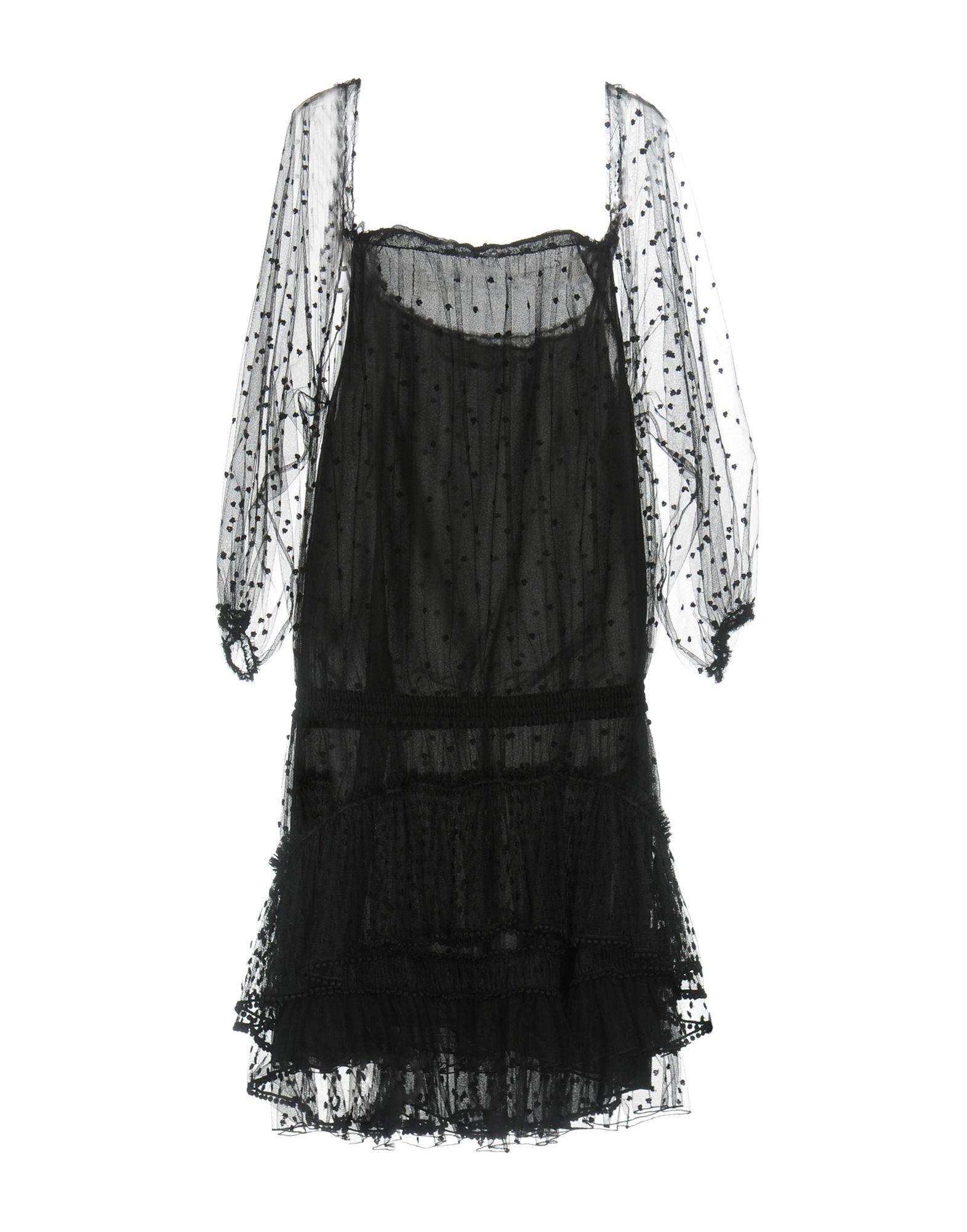 CHLOÉ Платье до колена платье с зернистым рисунком chloé