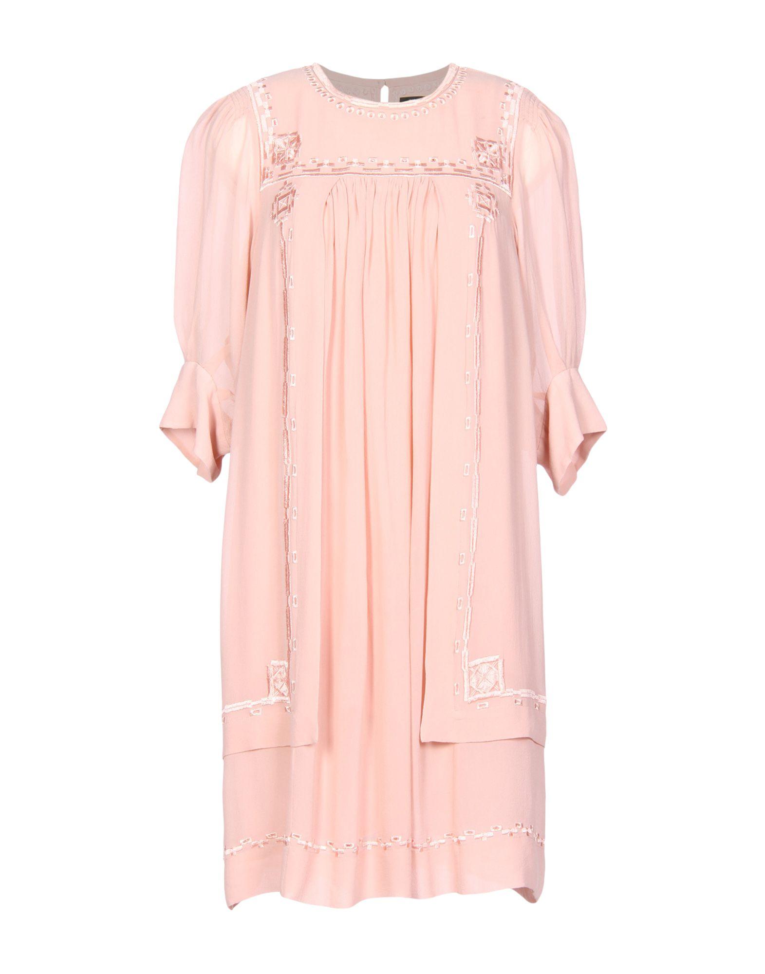 где купить ISABEL MARANT Короткое платье дешево