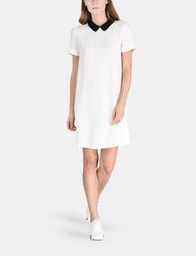 ARMANI EXCHANGE PETER PAN COLLAR SHIFT Mini dress Woman a