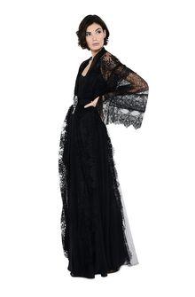 ALBERTA FERRETTI KIMONO MYSTERY DRESS Long Dress D a
