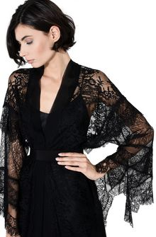 ALBERTA FERRETTI KIMONO MYSTERY DRESS Long Dress Woman d