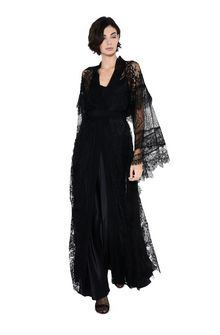 ALBERTA FERRETTI KIMONO MYSTERY DRESS Long Dress Woman f