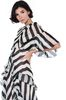 ALBERTA FERRETTI Long striped dress Long Dress D d