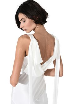 ALBERTA FERRETTI DIVA WHITE DRESS Long Dress Woman e