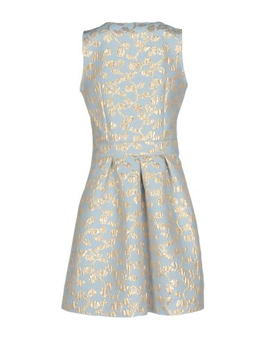 Фото 2 - Женское короткое платье DOISÈ небесно-голубого цвета