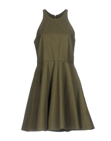 Фото - Женское короткое платье DEPARTMENT 5 цвет зеленый-милитари