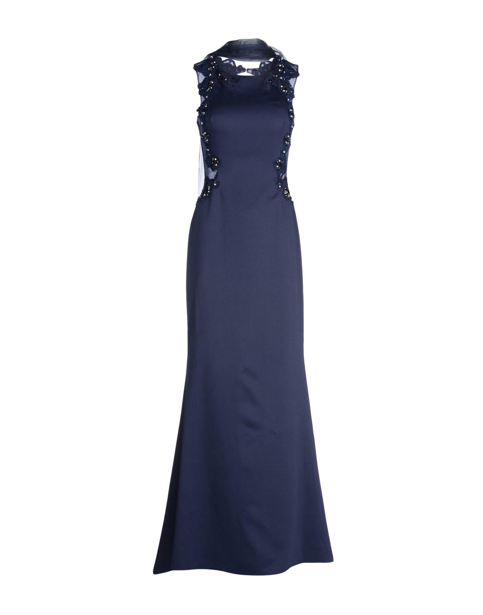 WANNA ROMANÒ Длинное платье цены онлайн