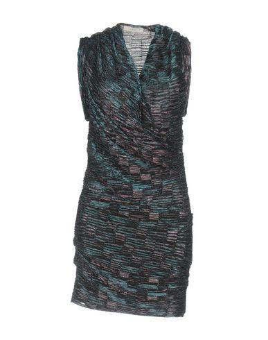 Купить Женское короткое платье  бирюзового цвета