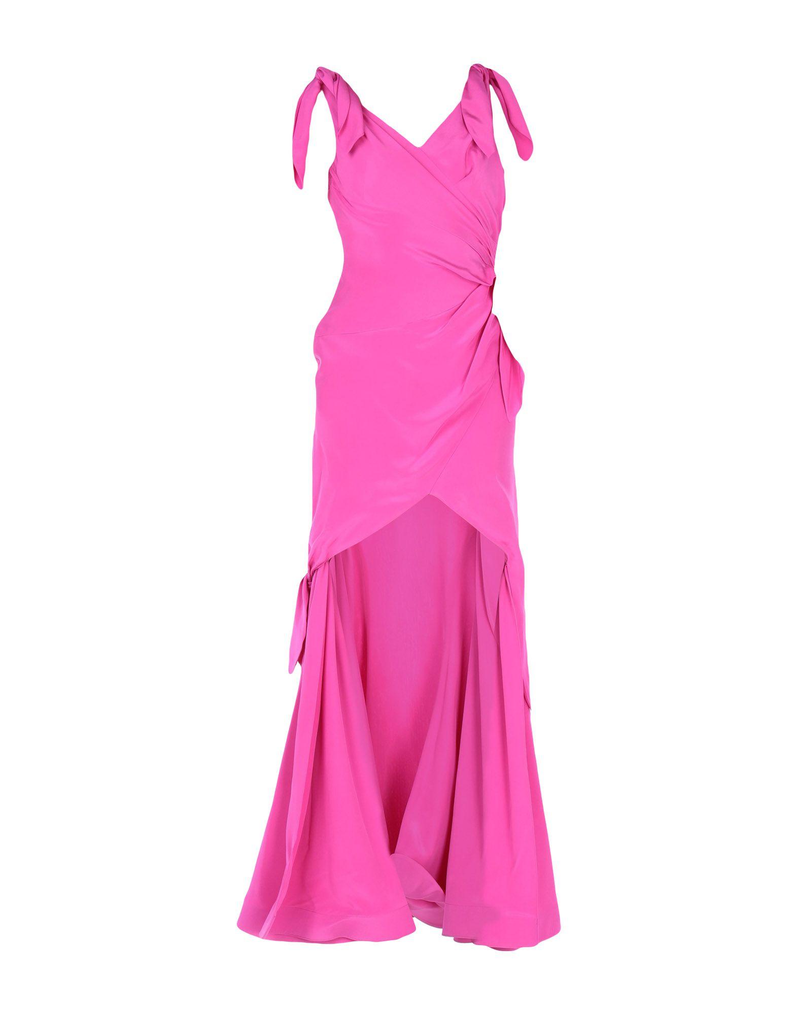MOSCHINO Длинное платье clio peppiatt длинное платье