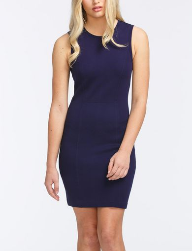 SEAMED PONTE BODYCON