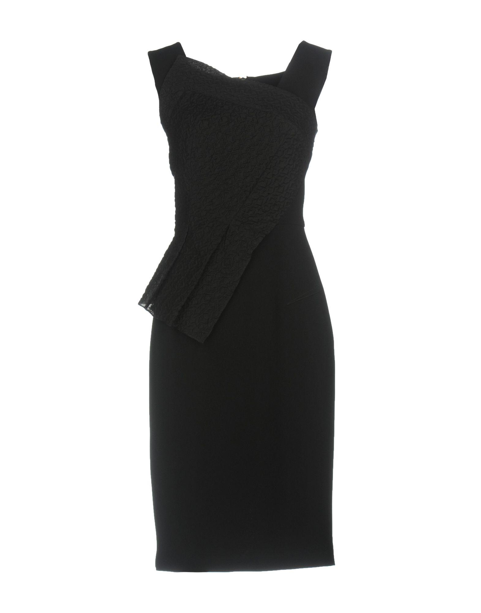 купить ROLAND MOURET Платье до колена по цене 57700 рублей