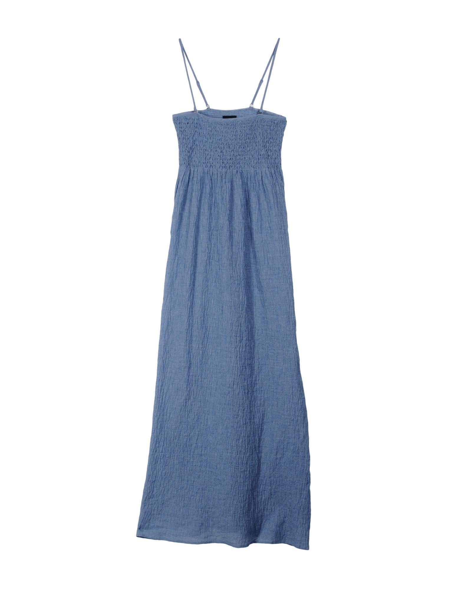 TWIN-SET JEANS Длинное платье checker knot bikini set