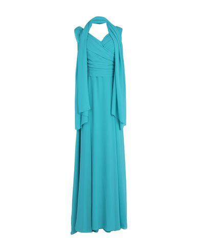Купить Женское длинное платье MUSANI COUTURE бирюзового цвета
