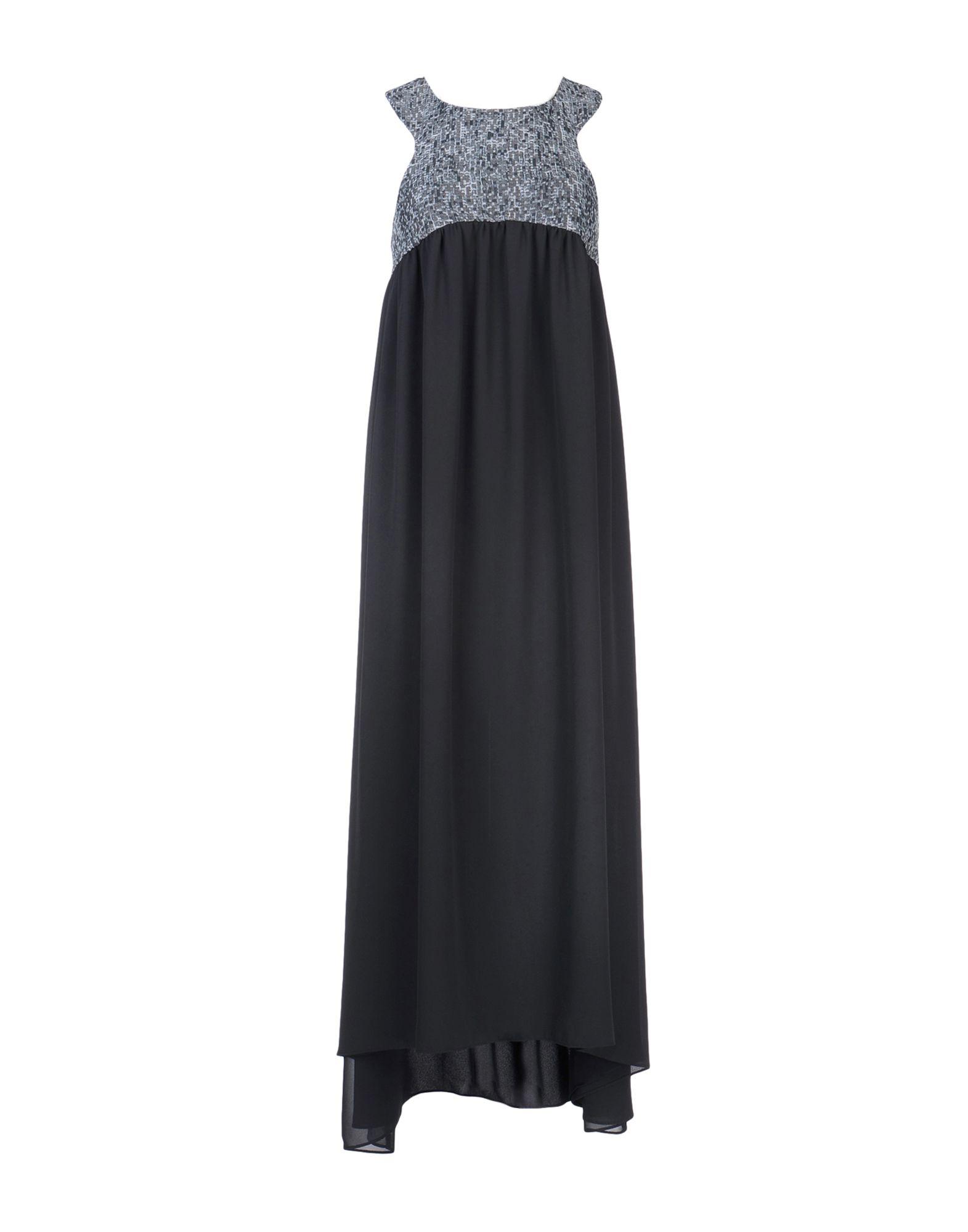CHIARA PERROT Длинное платье цена 2017