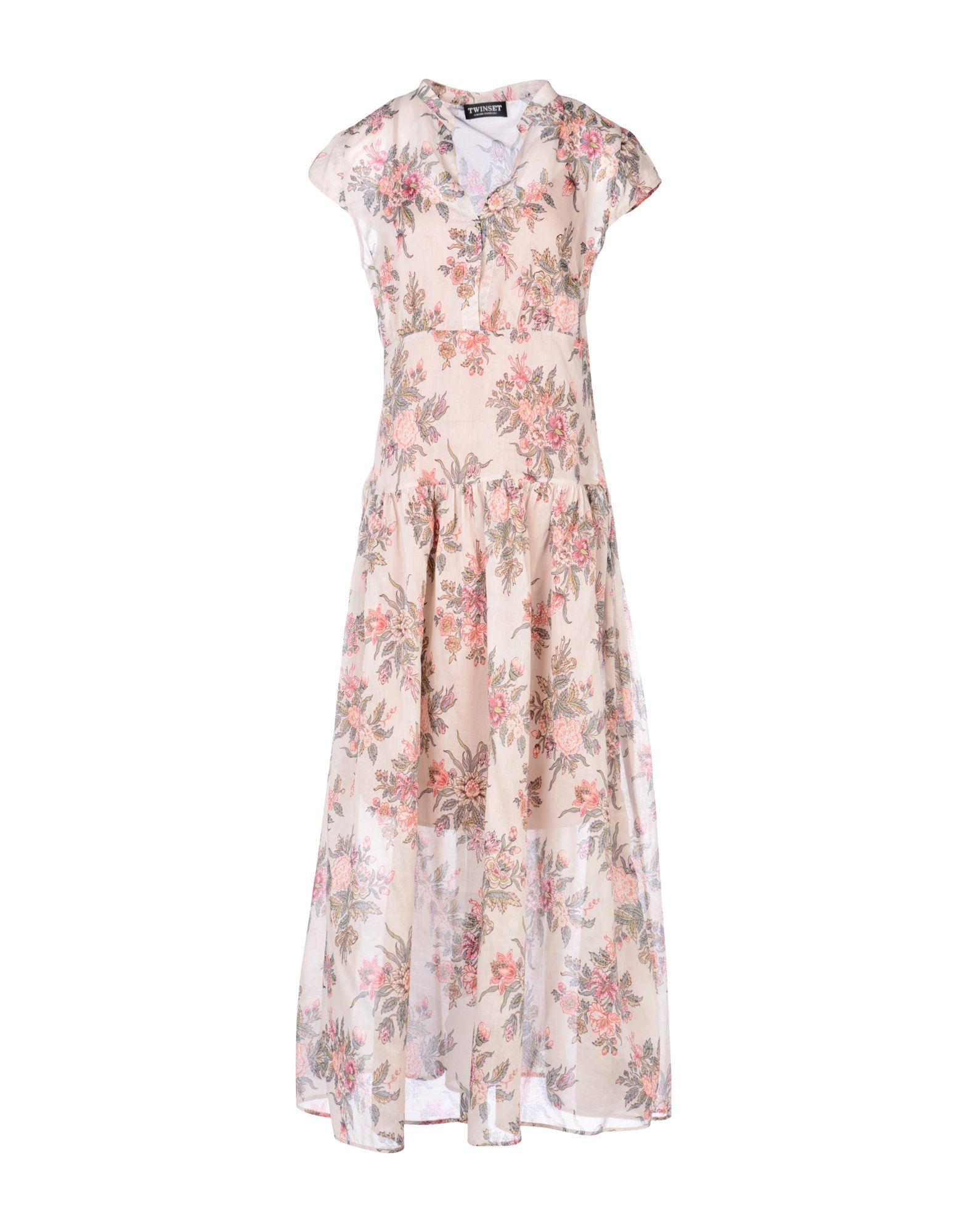 TWIN-SET Simona Barbieri Платье длиной 3/4 lisa corti платье длиной 3 4