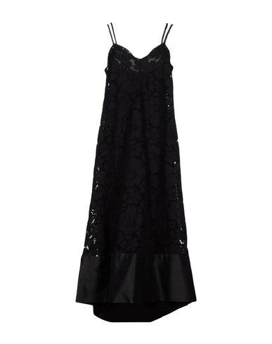 Купить Женское длинное платье TWINSET черного цвета